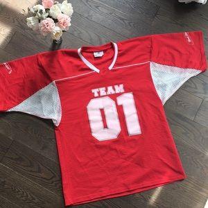 Red Stripe Team 01 Teamwork Jersey XL